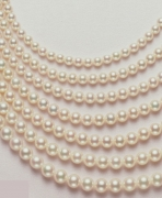 Akoya Cultured Pearl Temporary Strands